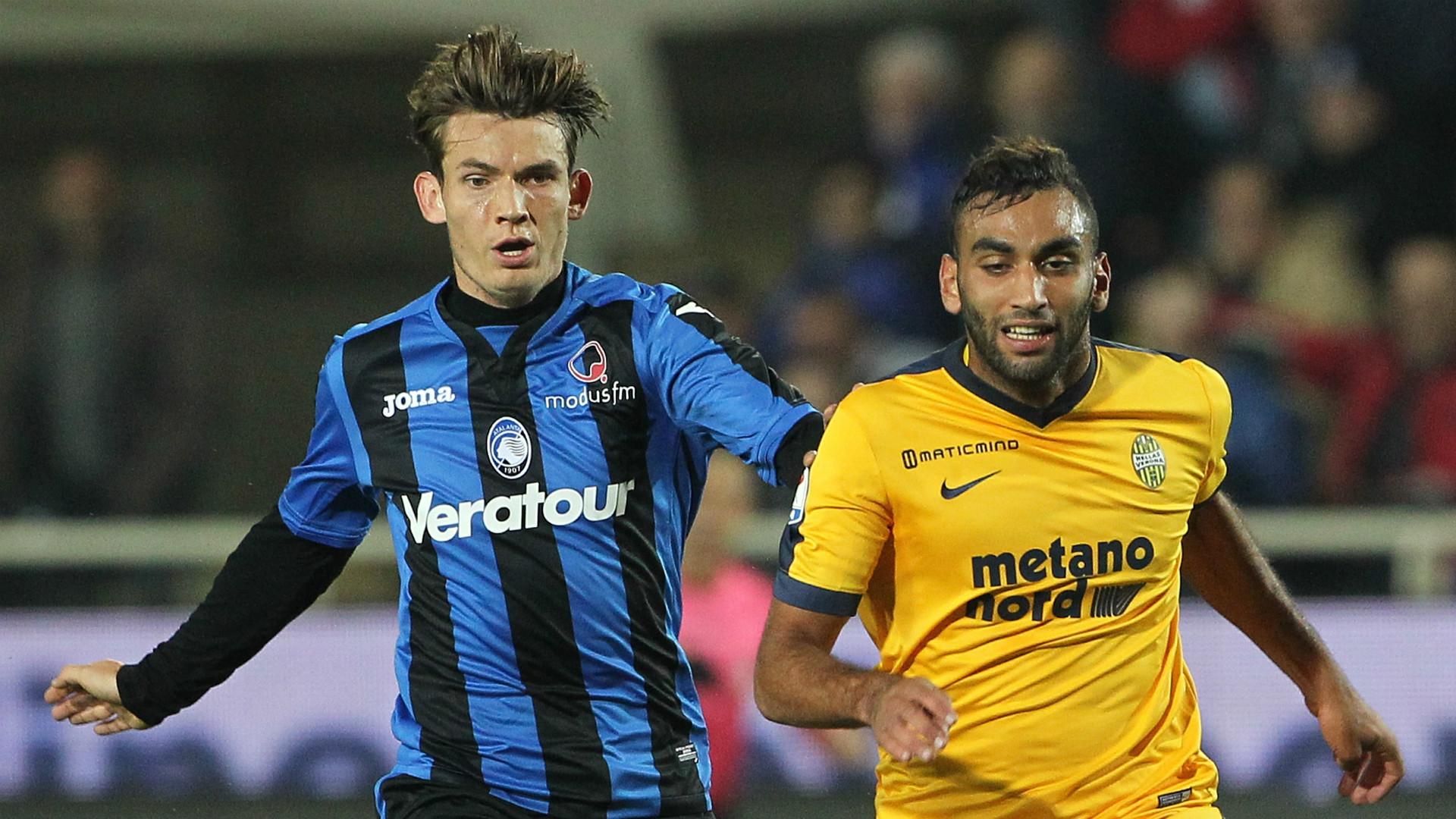 Marten De Roon, Mohamed Fares, Atalanta, Verona, Serie A, 25102017