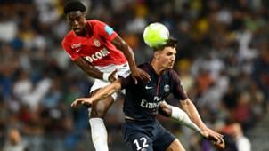 Thomas Meunier Terence Kongolo Monaco PSG Trophee des Champions 29072017