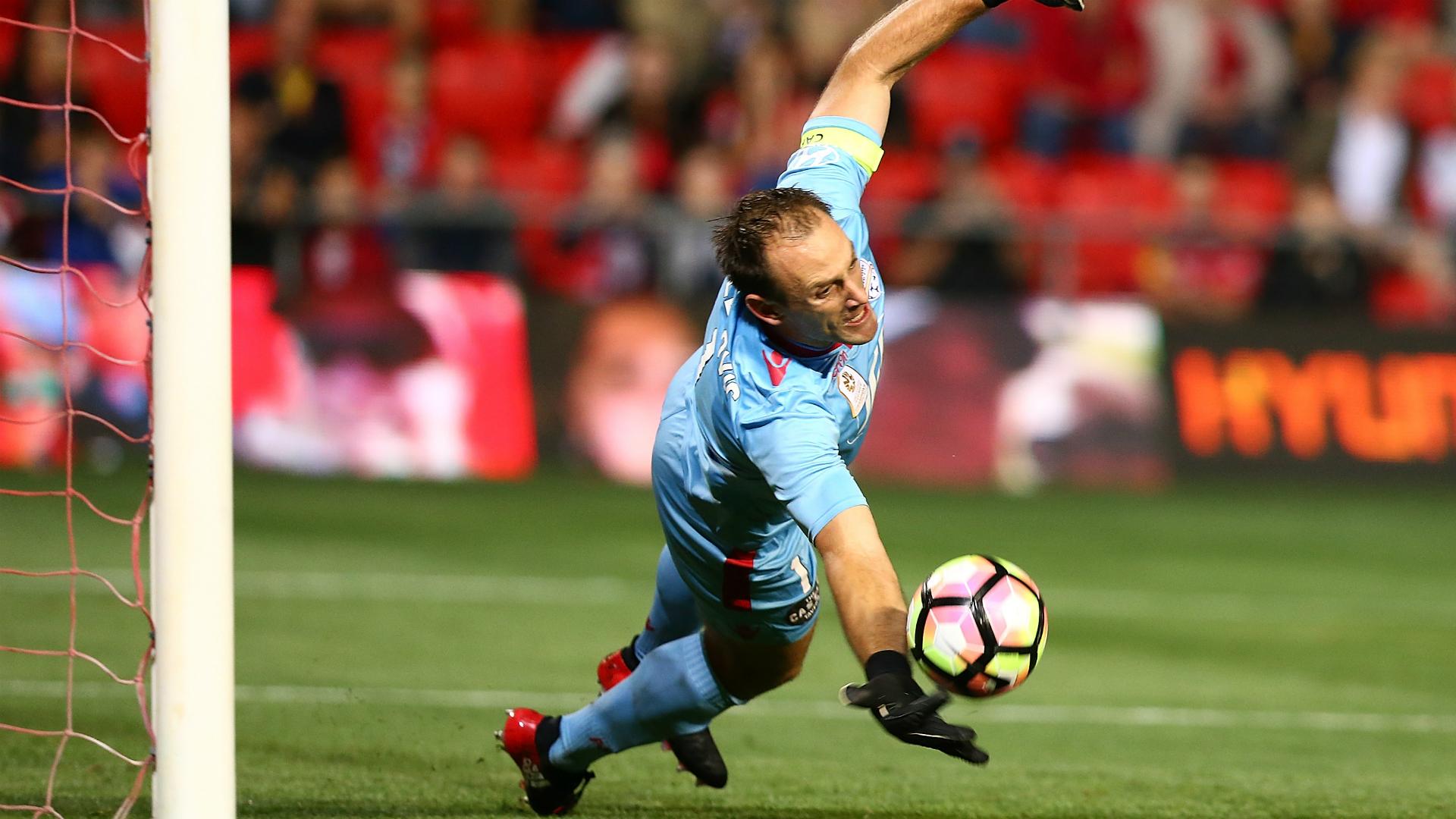Eugene Galekovic Adelaide United v Western Sydney Wanderers 15042017