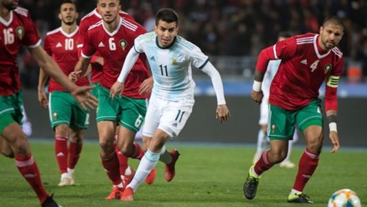 Ohne Messi! Correa schießt Argentinien zum Sieg in Marokko