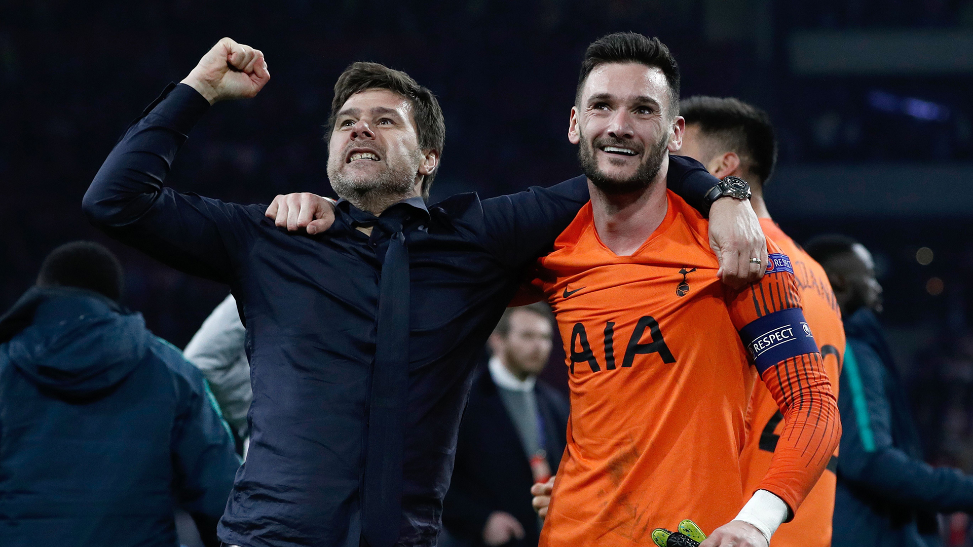 Mauricio Pochettino Hugo Lloris Tottenham Ajax Champions League