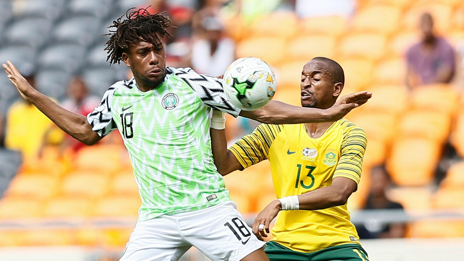 Alex Iwobi - Nigeria vs. South Africa