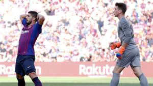 Luis Suarez Unai Simon Barcelona Athletic LaLiga 29092018