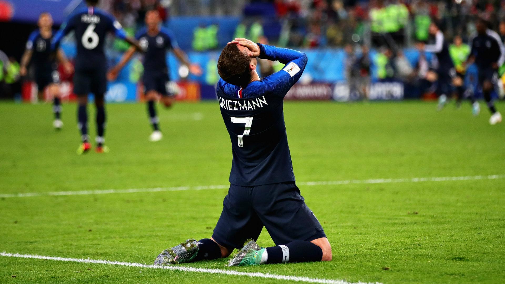 Antoine Griezmann France 100718