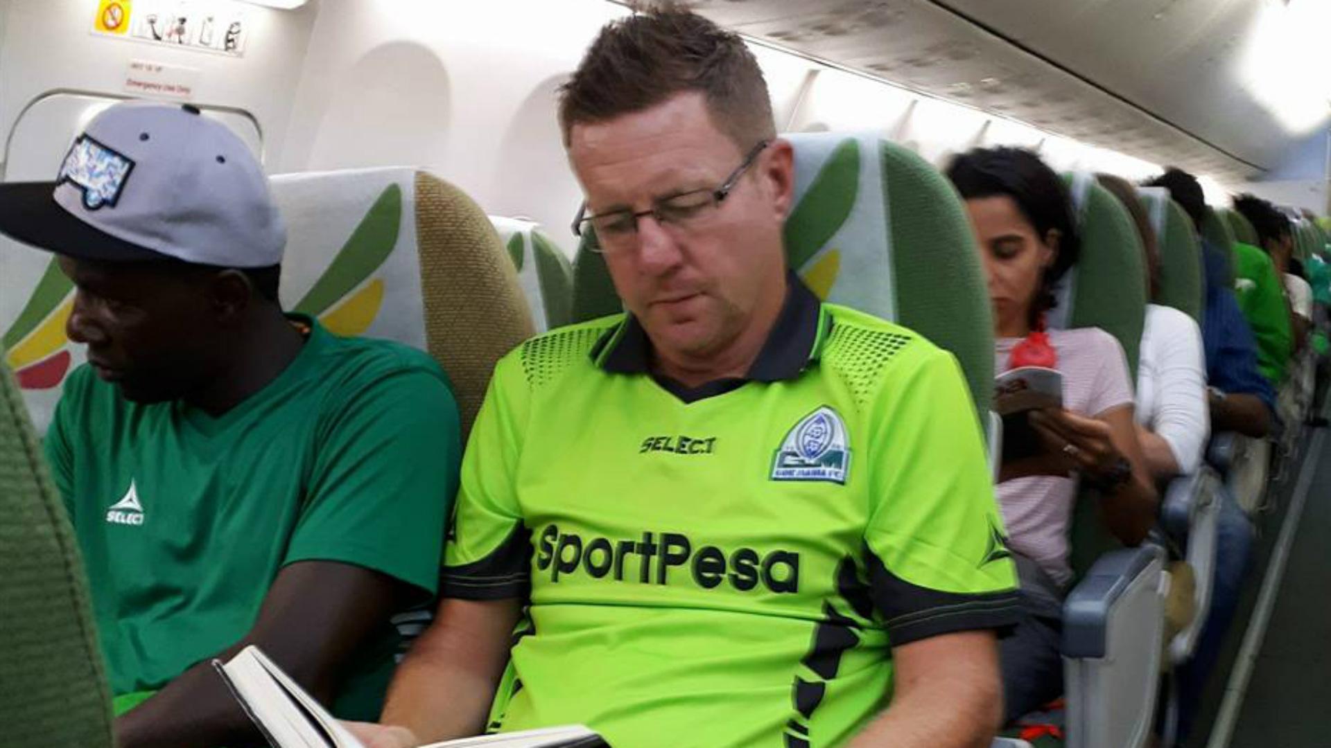 Gor Mahia coach Dylan Kerr for Ethiopa