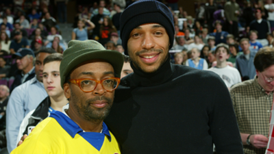 Spike Lee Thierry Henry Arsenal