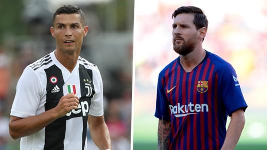 Cristiano Ronaldo Lionel Messi split