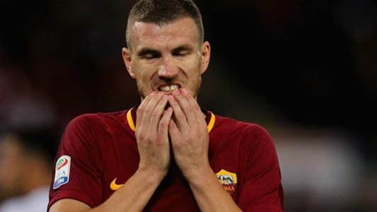 Dzeko Roma Crotone Serie A