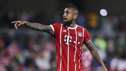 Arturo Vidal FC Bayern München Munich 06012018