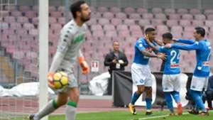 Andrea Consigli Napoli Sassuolo Serie A