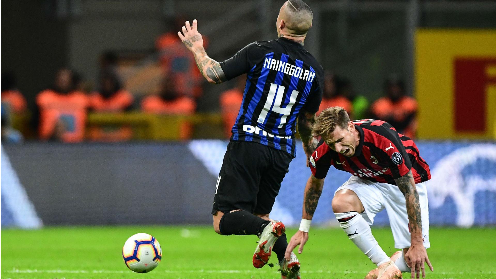 Nainggolan Biglia Inter Milan Serie A