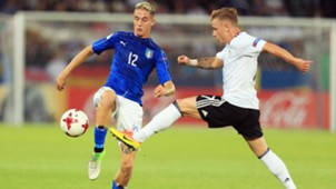 Andrea Conti Max Meyer Italy Germany U21 European