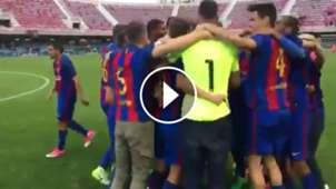 Barça B campeón de Liga