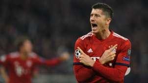 Robert Lewandowski FC Bayern München Champions League 07112018