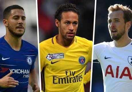 Neymar, Hazard & Real Madrid's summer targets