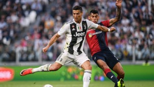 Ronaldo Juventus Genoa