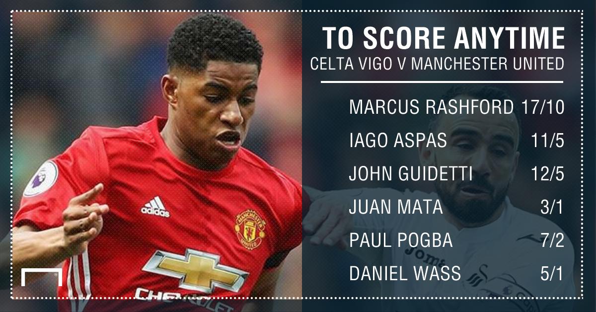 GFX Celta Vigo Man Utd scorer betting