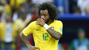 Marcelo Brazil Belgium World Cup 06072018