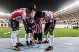 Teo Gutiérrez gol Junior de Barranquilla Copa Libertadores