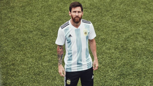 Messi Argentina WC shirt