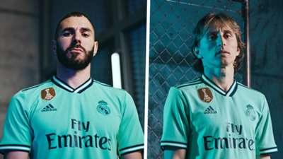 Karim Benzema Luka Modric Real Madrid third kit 2019-20