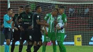 Dayro Moreno pelea con Lucumí