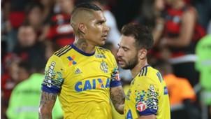 Guerrero Everton Ribeiro Flamengo Coritiba Brasileirão 22 07 2017