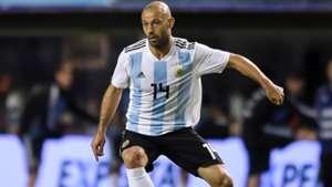 Javier Mascherano Argentina Haiti 290518