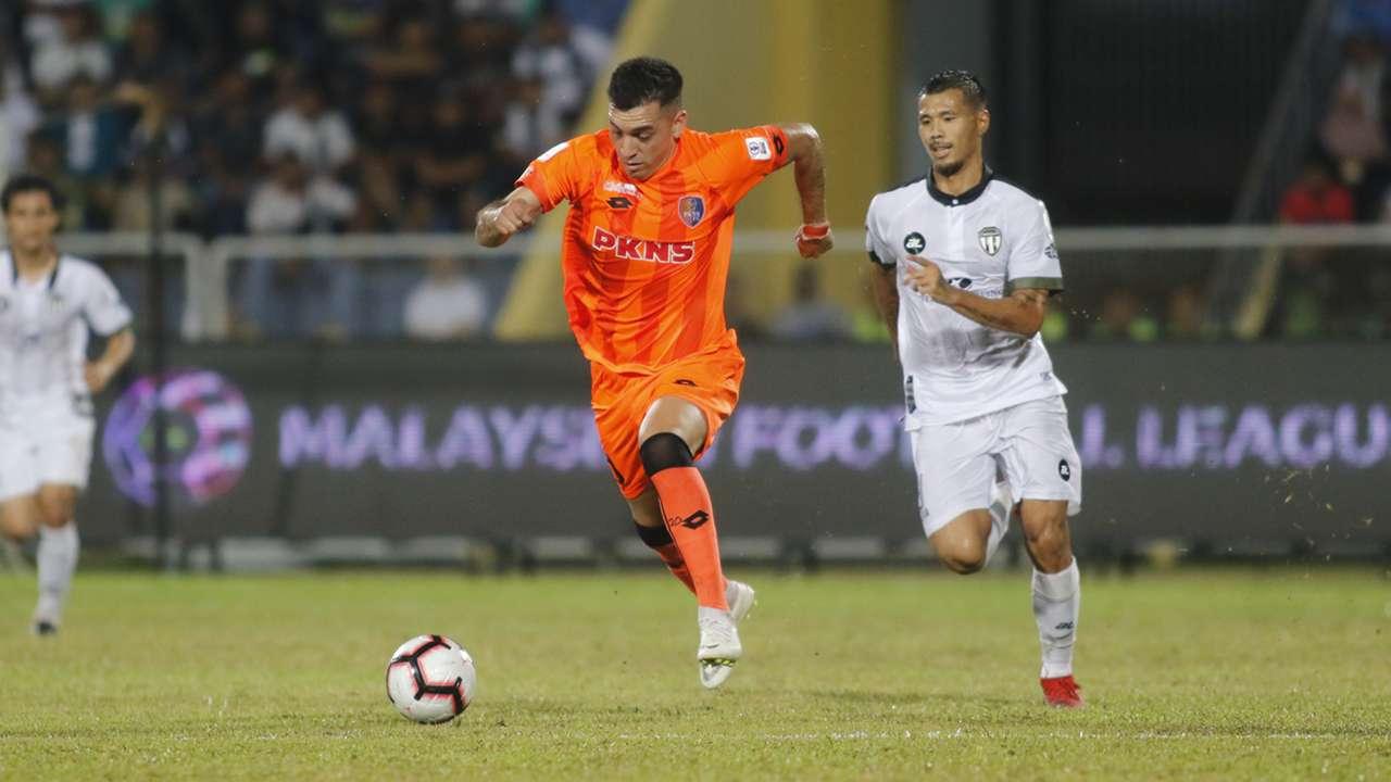 Gabriel Guerra, Terengganu v PKNS, Super League, 1 Feb 2019