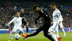 Neymar Casemiro Real Madrid PSG Champions League