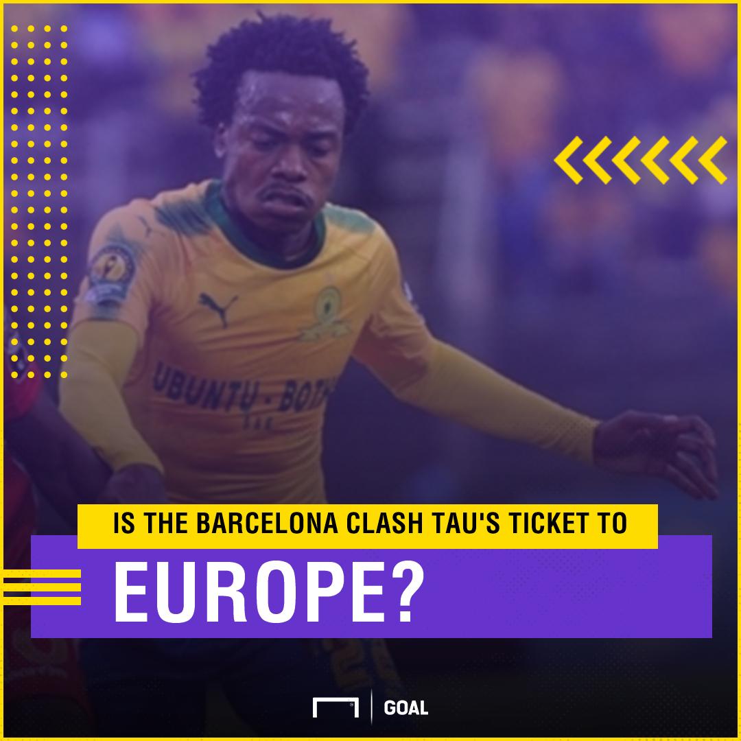 Percy Tau  Is Barcelona clash Sundowns attacker s ticket to Europe ... 632720da2e1