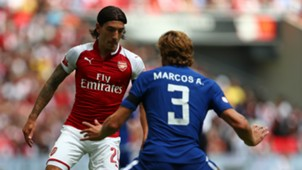 Hector Bellerin Marcos Alonso Arsenal Chelsea