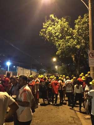 Torcida Flamengo vs Ponte Preta 140617