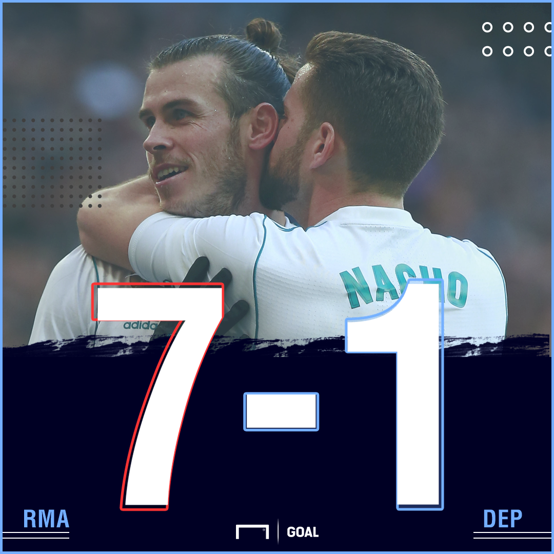 Real Madrid Deportivo score