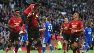 Manchester United Leicester 10082018