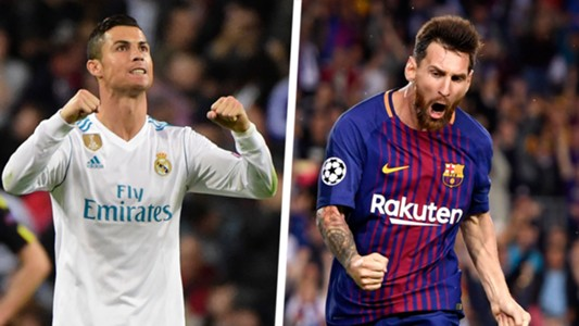 Cristiano Ronaldo Real Madrid Lionel Messi Barcelona