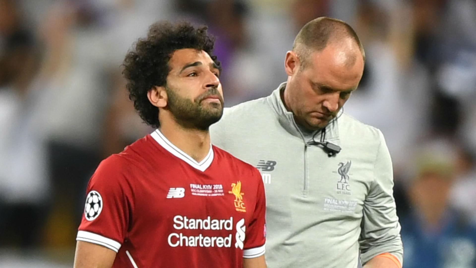 Mohamed Salah Liverpool Champions League final 2018