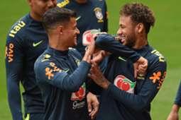 Coutinho Neymar Brasilien