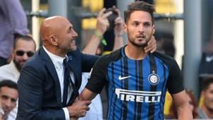 Spalletti D'Ambrosio Inter Genoa