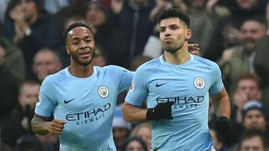 Raheem Sterling Sergio Aguero Manchester City