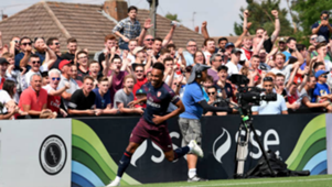 Pierre Emerick-Aubameyang Arsenal Boreham Wood 140718