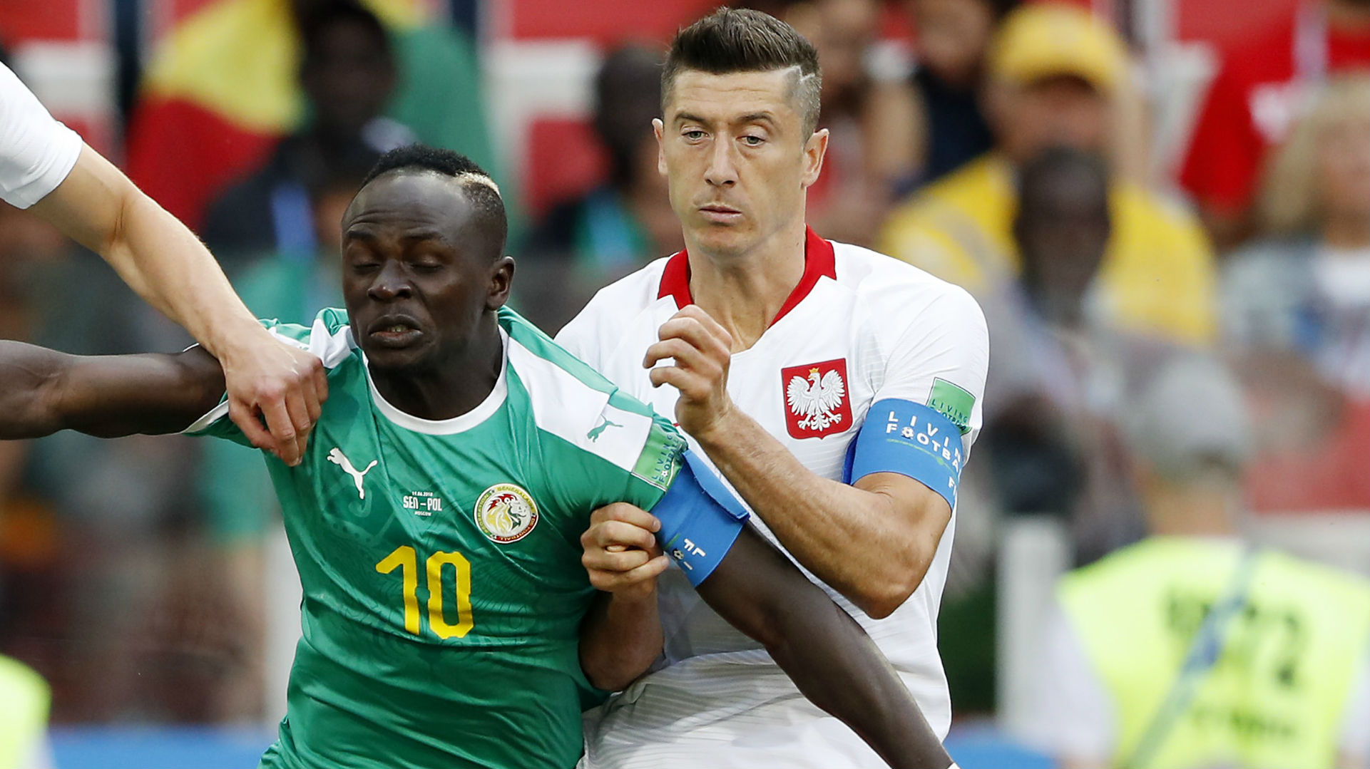 Sadio Mane Senegal Robert Lewandowski Poland World Cup