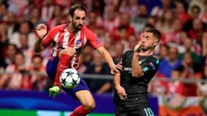 Juanfran Eden Hazard Atletico de Madrid Chelsea UCL 27092017
