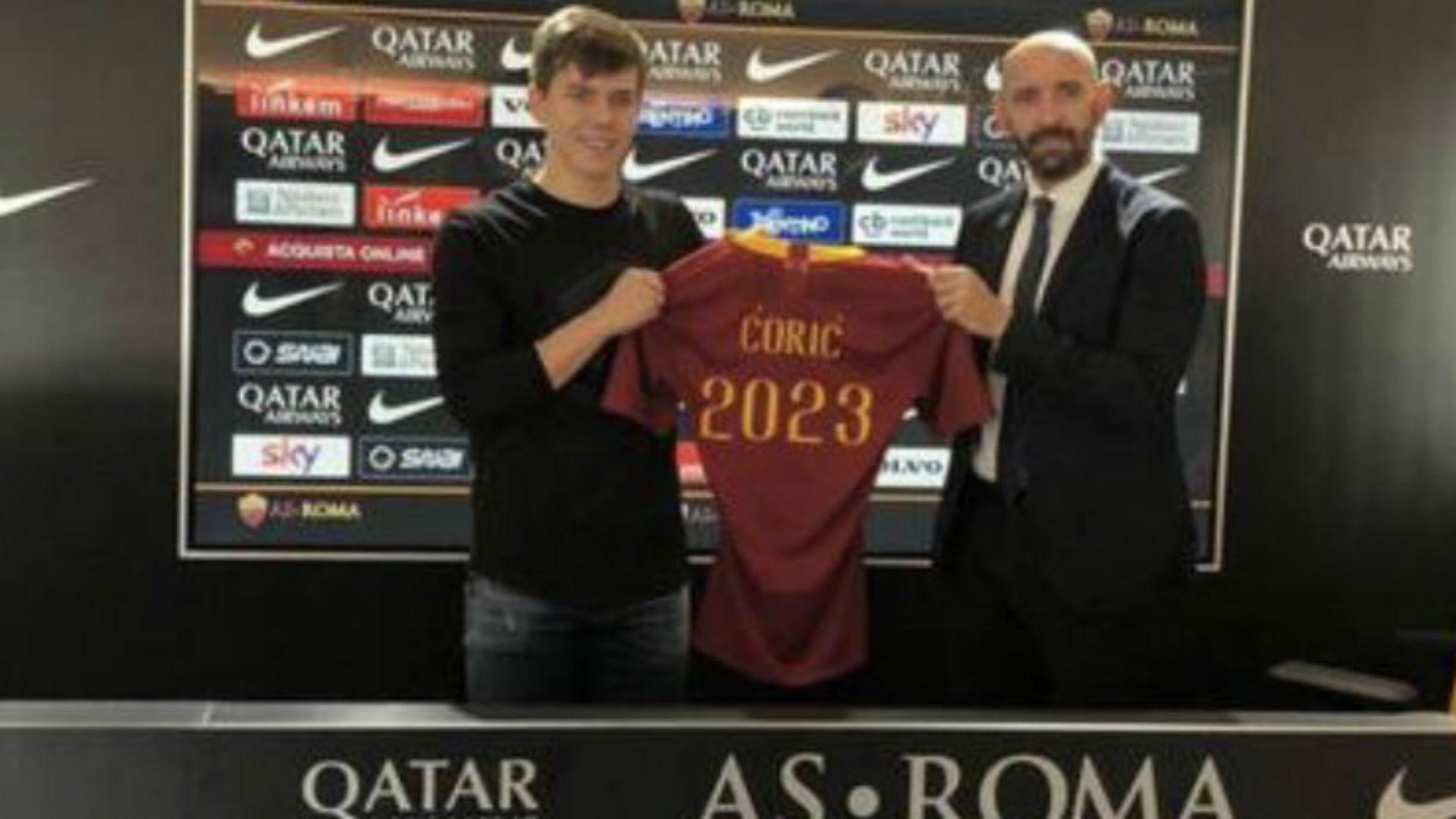 Calciomercato Roma, è arrivato Coric: visite e firma nei prossimi giorni