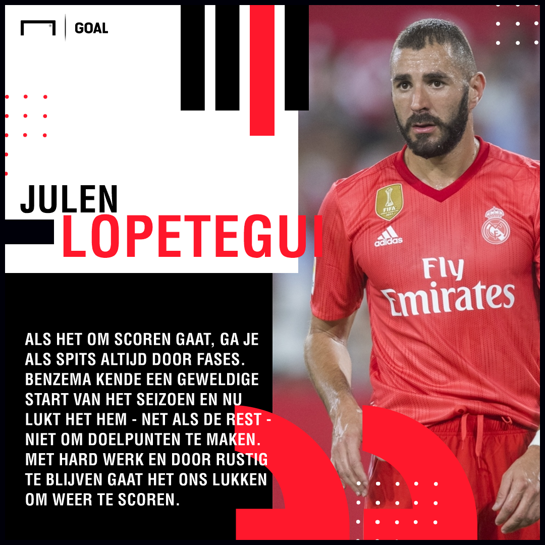 Lopetegui quote Benzema Dutch