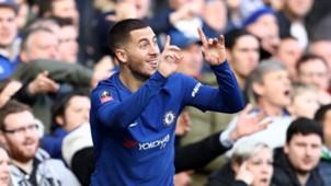 Eden Hazard FC Chelsea 28012018
