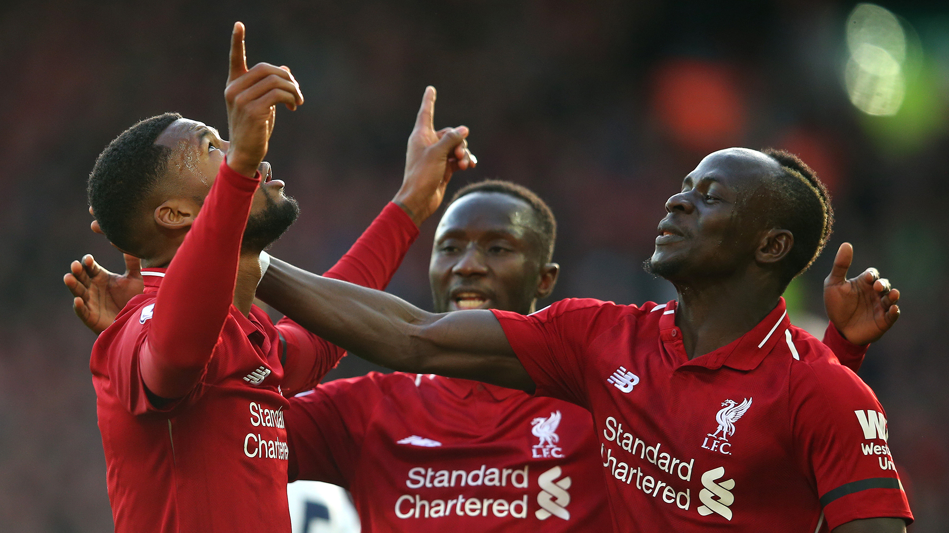 Crisis Over Liverpools Mane Of The Moment Settles Title Jitters