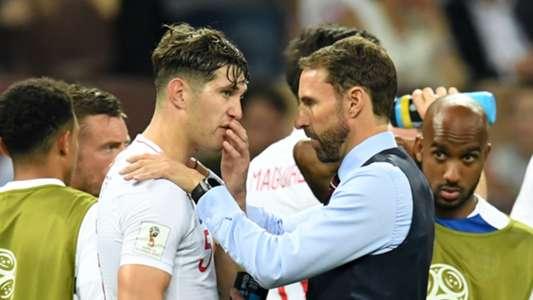 John Stones Gareth Southgate England Croatia 11072018