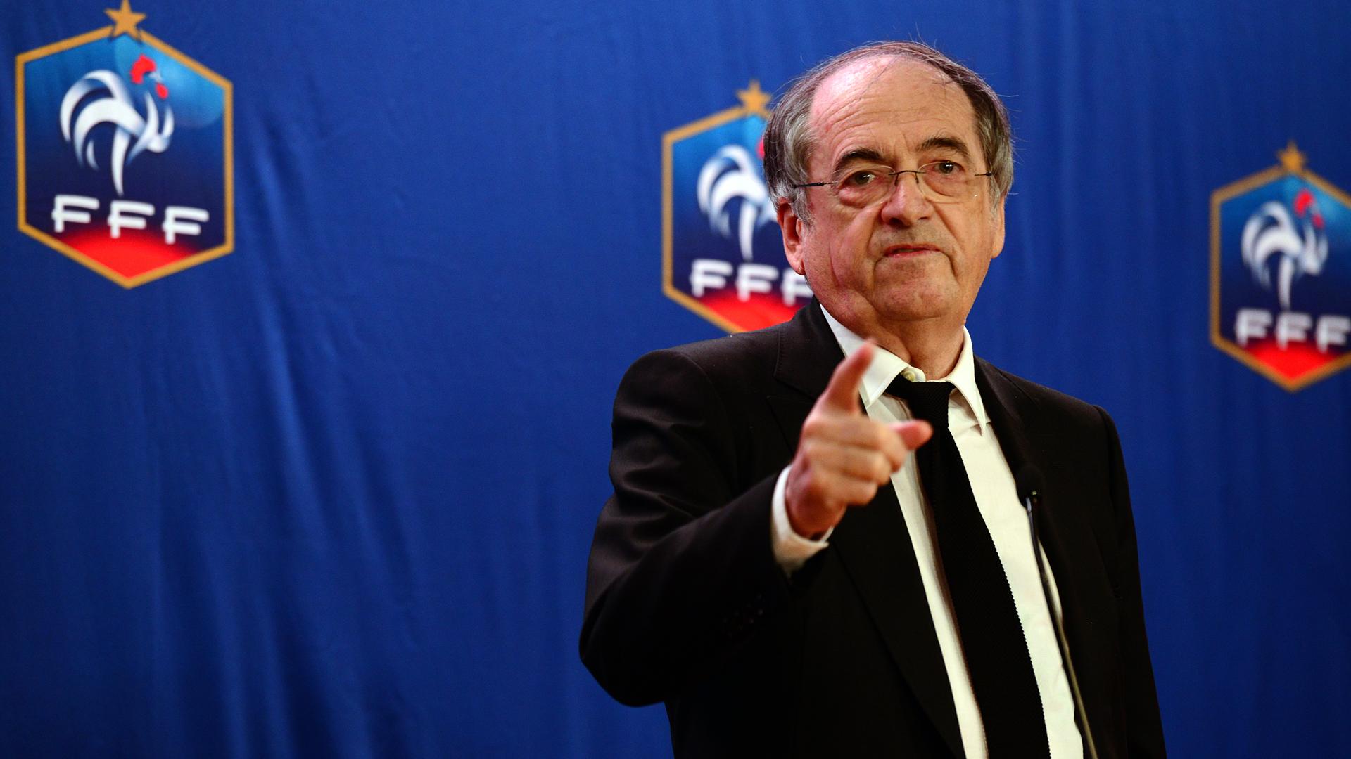 Noel Le Graët, président de la Fédération française de football