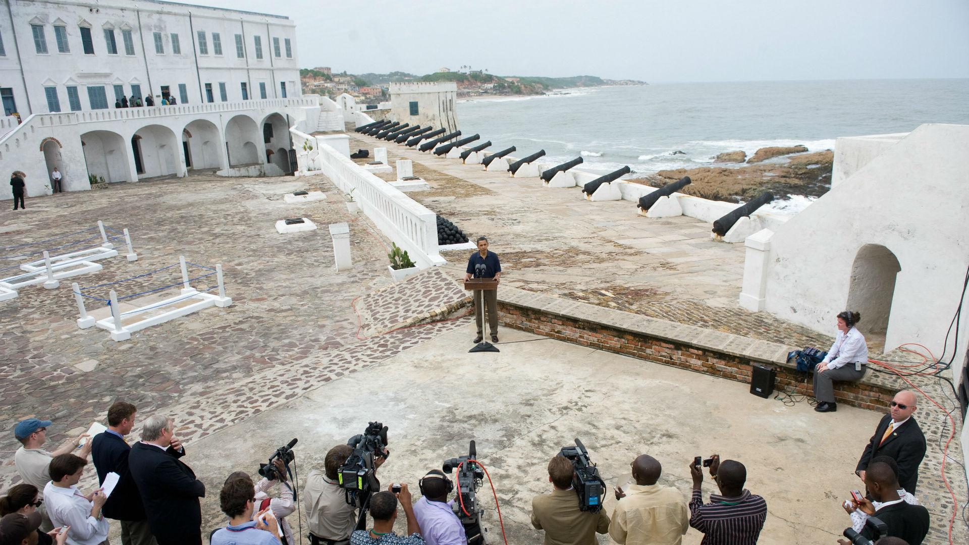 Barack Obama - Cape Coast 2009